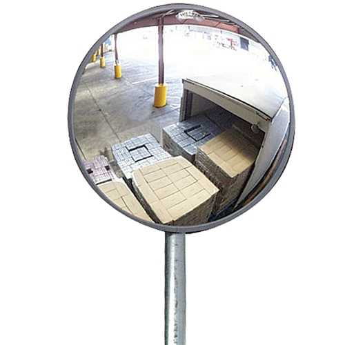 Safety wall mirror
