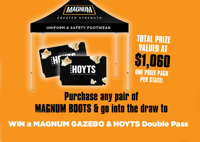 Buy & Win with Magnum Boots