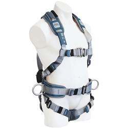 SpanSet® 1107 ERGOiplus Full Body Fall Arrest Harness w/ Padded Waistband