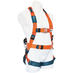 SpanSet® 1300 ERGO Full Body Fall Arrest Harness w/ Non-Padded Waistband