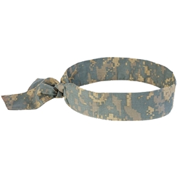 Ergodyne CHILL-ITS® 6700 Camo Cooling Bandana (Tie)