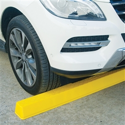 Barrier Security Wheel/Bump Stop 1700mm Yellow CWS1700Y