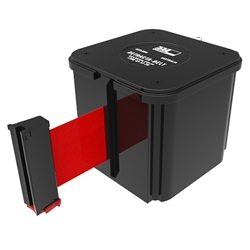 Barrier Group Red Retracta-Belt Wall Mount RWM76-RD