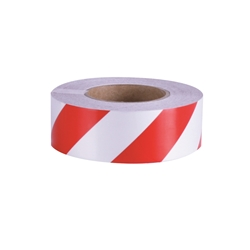 Red/White Reflective Tape 50mm - Sold Per Metre