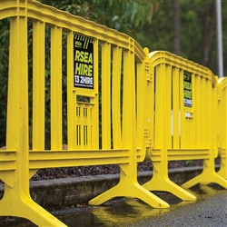 RSEA Plastic Crowd Control Barrier