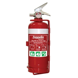 Zeppelin Professional 1kg ABE Dry Chemical Fire Extinguisher with Bracket