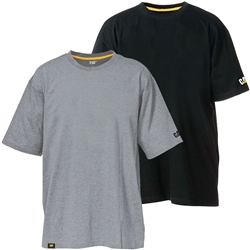 CAT® Workwear Basic Logo Tee (2Pk)