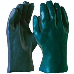 Blue Rapta Green PVC 27cm Sand Dipped Gloves