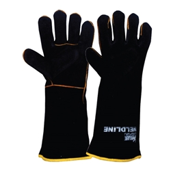 Blue Rapta Weldline Black & Gold Welding Gloves