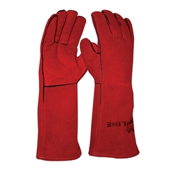 Blue Rapta Red Kevlar Welding Gloves