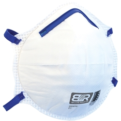 Blue Rapta P2 Cupped Respirator (Bx 20)