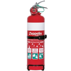 Zeppelin Professional 1kg ABE Dry Chemical Fire Extinguisher
