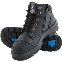 Steel Blue Parkes 312658 Z/Sided Safety Hiker Boots w/ Scuff Cap