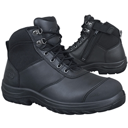 Oliver WB 34-660 Black Z/Sided Ankle Safety Boots