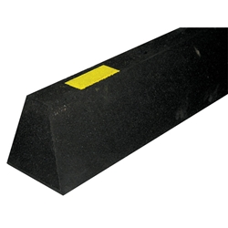 Envirorubber Parking Kerbing Yellow & Black 800 x 120 x 100mm