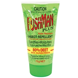 Bushman PLUS 75g Gel Tube Insect Repellent w/ SPF15+