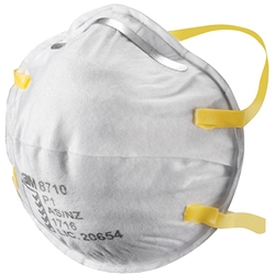 3M™ 8710 FFP1 Cupped Particulate Respirator (Bx 20)