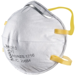 3M™ 8210 P2 Cupped Particulate Respirator (Bx 20)