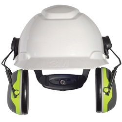 3M™ Peltor™ X4 Series 27dB CL5 Premium Cap Attached Earmuff X4P3E
