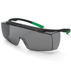 uvex Superfit OTG Grey Welding Safety Glasses Shade 5 Lens 9169-045