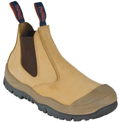 Mongrel Boots 440050 Wheat E/Sided Safety Boots w/ Scuff Cap