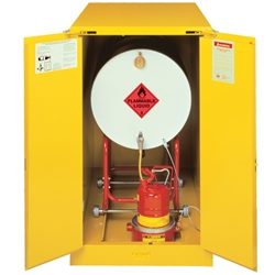 JUSTRITE Horizontal 207L Flammable Liquid Drum Cabinet AU25662
