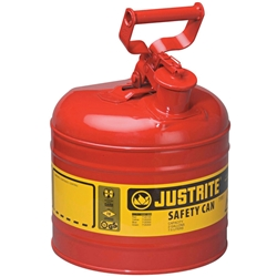JUSTRITE 7.5L Type 1 Safety Can 7120100