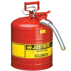 JUSTRITE 19L Type 2 AccuFlow™ Safety Dispensing Can 7250130