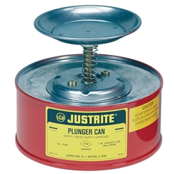 JUSTRITE 1L Dasher Plunger Can 10108