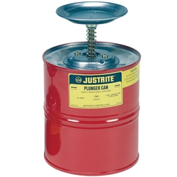 JUSTRITE 1.9L Dasher Plunger Can 10208