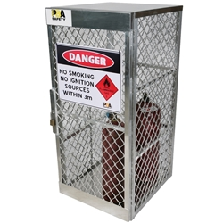 PBA Safety 10 Cylinder Storage Locker 23006FLM