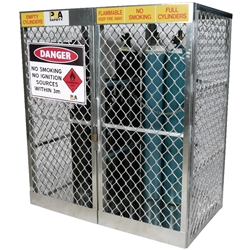 PBA Safety 20 Cylinder Storage Locker 23007FLM