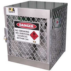 PBA Safety 4 LPG Cylinder Storage Locker 23009