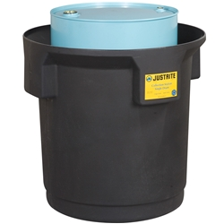 PBA Safety Collection Centre Single Drum 250L Black 28685