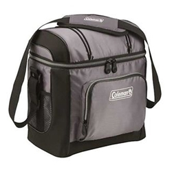 Coleman Brands Cooler 16 Can Soft Shell Grey 1322907