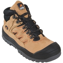 Mongrel Boots 480070 Tan Hiker Safety Boots