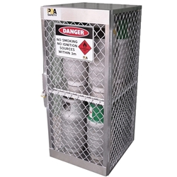 PBA Safety 8 Cylinder Storage Locker 23010