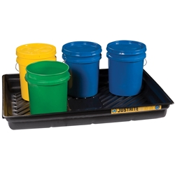PBA 28719 109L Safety Spill Tray Eco Poly Blend 1194x838x139