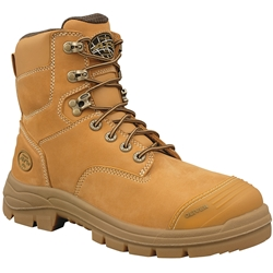 Oliver AT 55 150mm Wheat Lace Up Safety Boots 55-332
