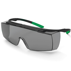 uvex Superfit OTG Grey Welding Safety Glasses Shade 3 Lens 9178-043
