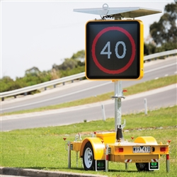 VSLS Colour Variable Speed Limit Sign