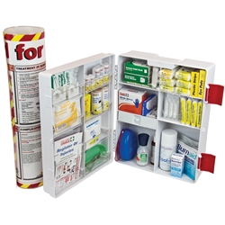 Trafalgar National Workplace Burns First Aid Kit 873858