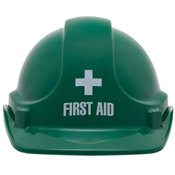 UniSafe Green First Aid Specialty Safety Helmet
