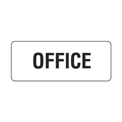 Office Metal Sign 450x200mm