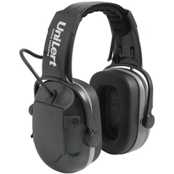 UniSafe UniLert 29dB CL5 Active Listening Electronic Earmuff