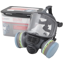 Scott Safety Promask Twin Full Face ReadyPak w/ Pro² Spraying A2/P3 Filters