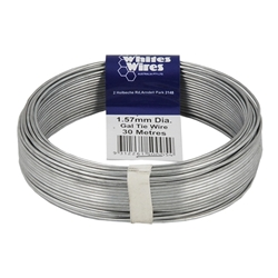 Whites Wires Galvanised Tie Wire 1.57mm Dia 30m Handy Pack