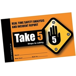 Uniprint Take 5 Safety Book T5