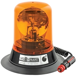 Vision Alert Mag70 3 Bolt Amber Beacon