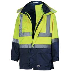 Rainbird Workwear 4-in-1 Utility Jacket and Vest